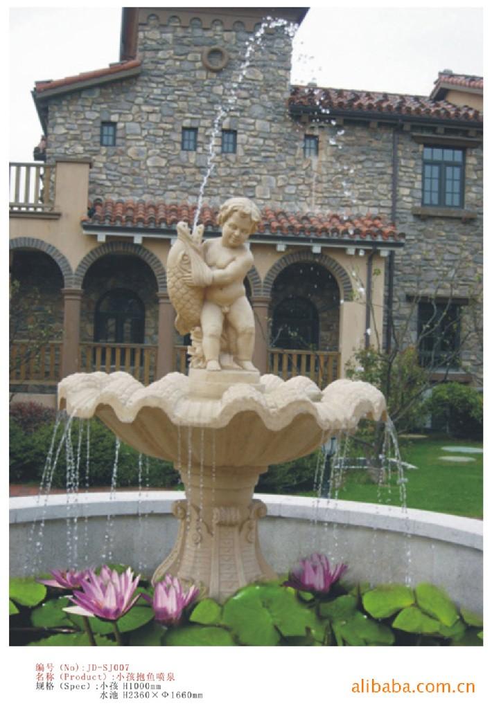 欧式风格喷泉雕塑