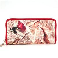 供应玫瑰有约时尚手袋|女士钱包|手机袋|布艺袋
