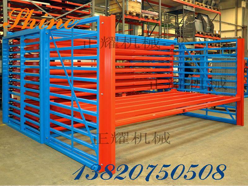 板材余料收集存储抽屉货架