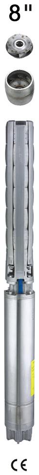 蚌埠8SP冲压全不锈钢井用潜水泵选型,大量供应好的8SP冲压全不锈钢井用潜水泵
