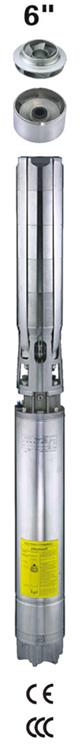 怀柔6SPC精铸全不锈钢井用潜水泵选型供应 福一流体设备供应专业的6SPC精铸全不锈钢井用潜水泵
