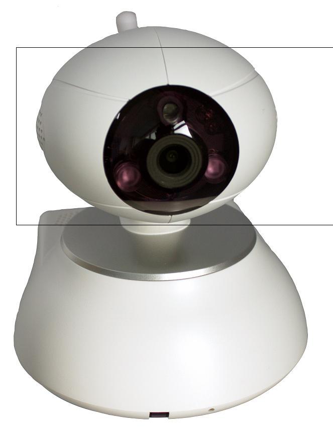 家庭一键报警主机,WIFI+IP有线网络高清视频报警摄像机
