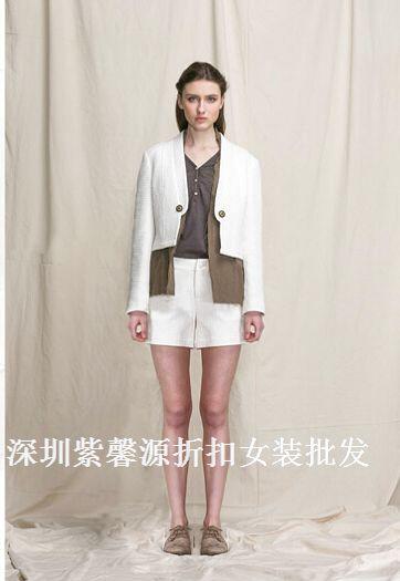 深圳品牌女装折扣店货源爆款折扣女装批发走份