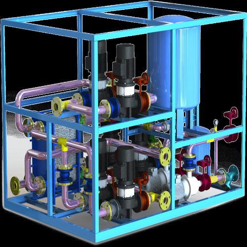 锅炉工程安装 陕西换热机组设计 西安中盛节能科技有限公司