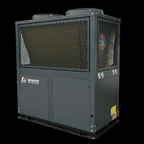 西安空气源热泵性价比高_工程安装现场_西安中盛节能科技有限公司