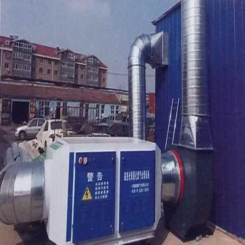 有机废气处理设备-静电除尘移动伸缩喷漆房-济南海诺工程材料有限公司
