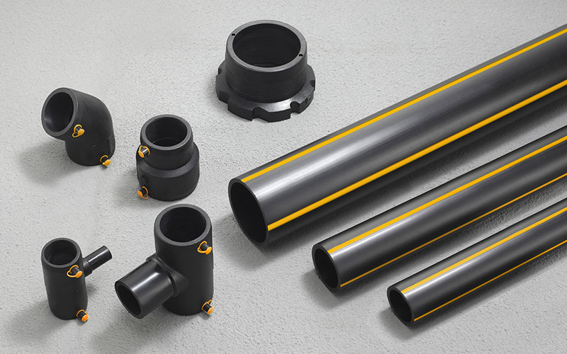 聯塑燃氣管系列PE燃氣管聯塑管道