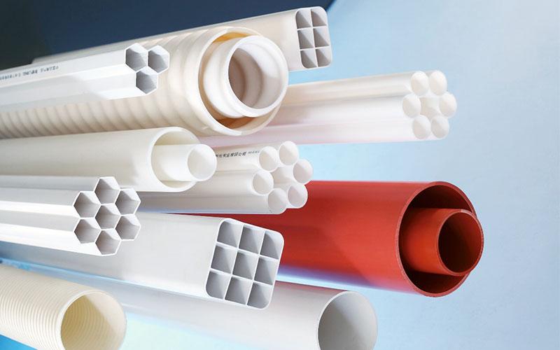 聯塑電力通信管系列通信管聯塑管道