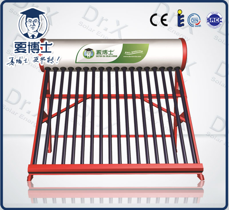 常州太阳能热水器销售-真空管非承压一体太阳能工程解决方案