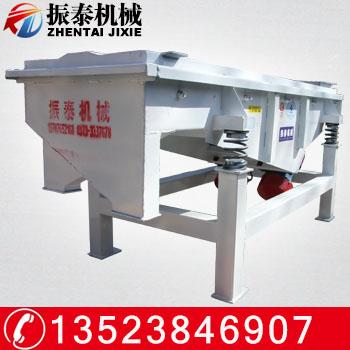 化肥专用直线振动筛 多层长方形直线振动筛 化肥筛选设备