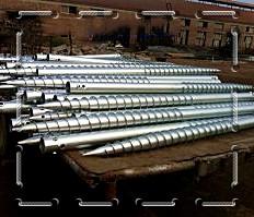 供应波优帝螺旋地桩 预埋地桩 光伏支架 太阳能光伏设备 生产厂家 支持定做