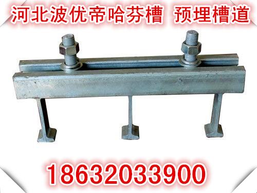 哈芬槽式预埋件 热镀锌 管廊幕墙固定 厂家定做加工 批发