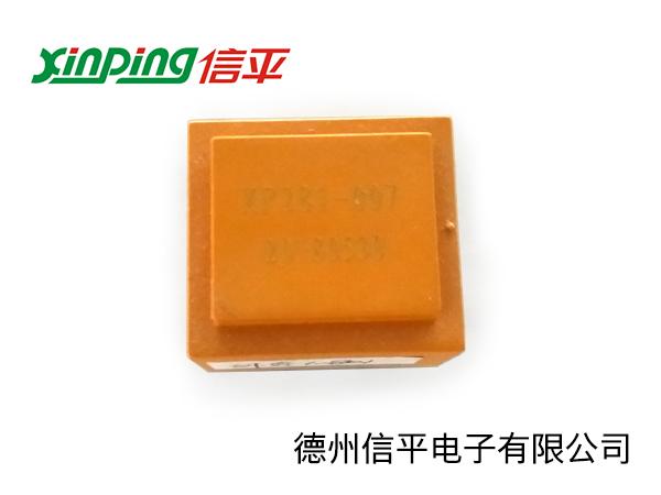 温度控制器用230变14.1V0.5W灌封插针电源变压器