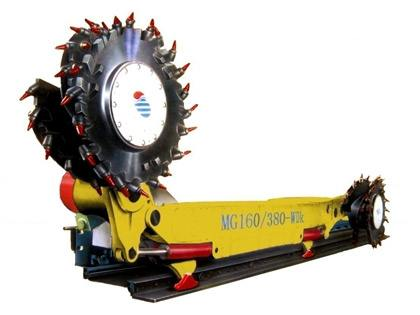 出租MG160/380-WD型电牵引采煤机