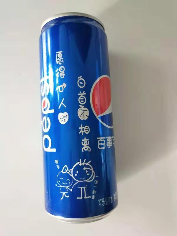 西华县激光可乐刻字打标婚庆可乐定制