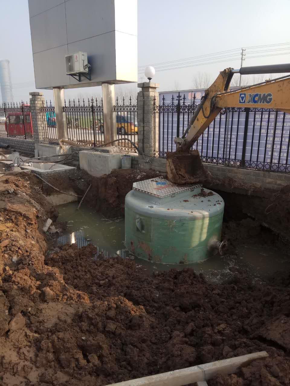 襄陽一體化污水提升泵站**