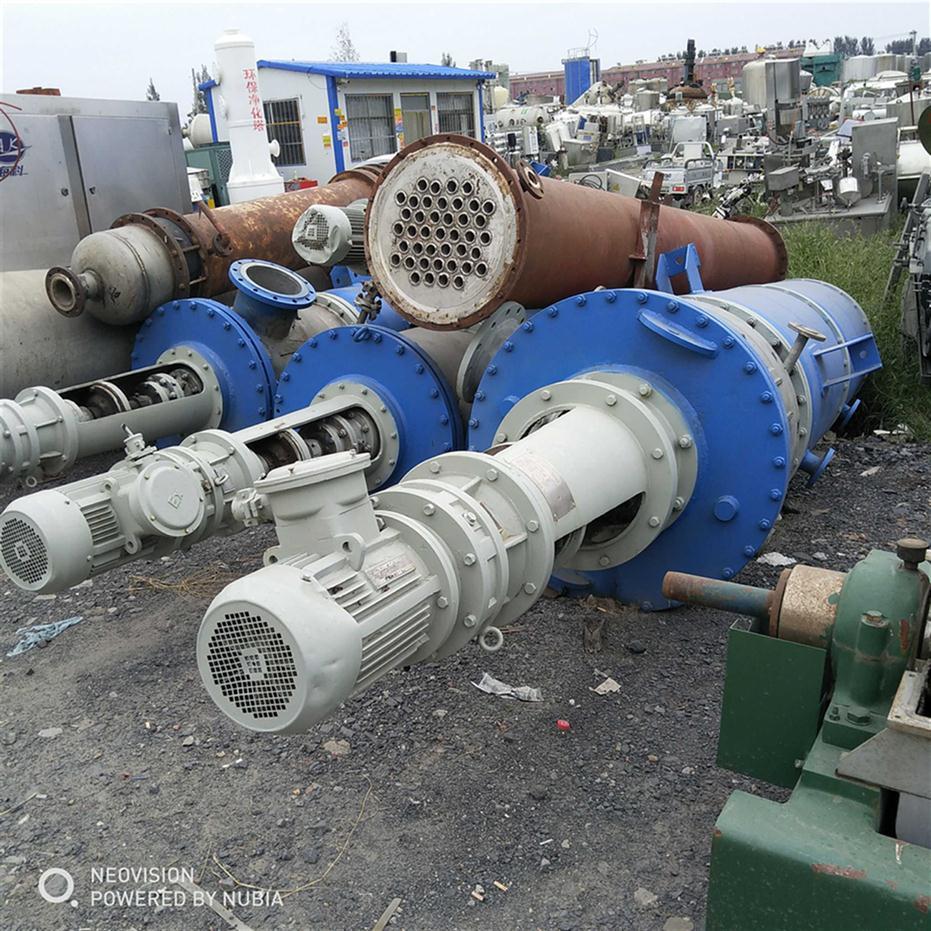 福建回收二手刮板式薄膜蒸發器