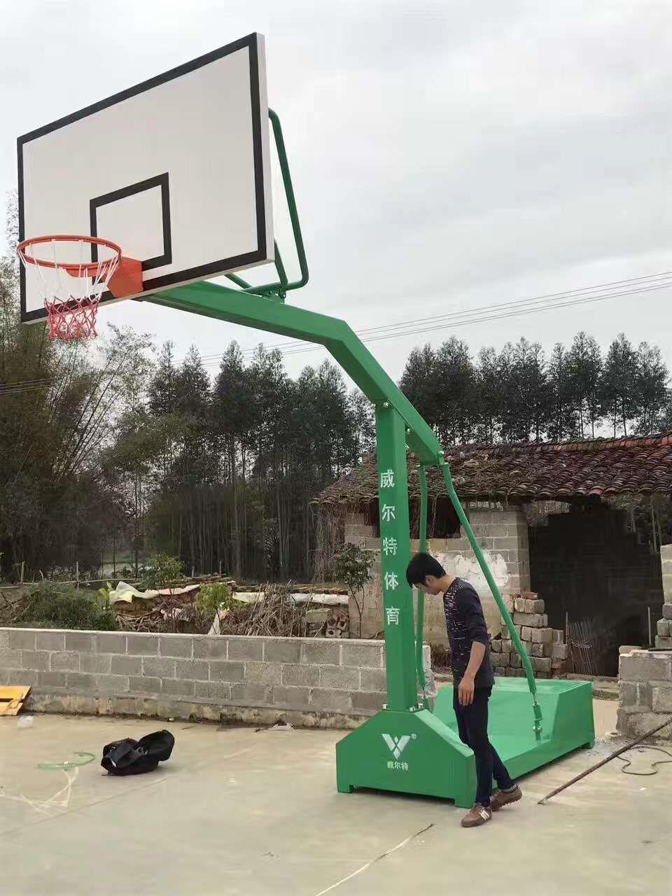 河池市罗城篮球架