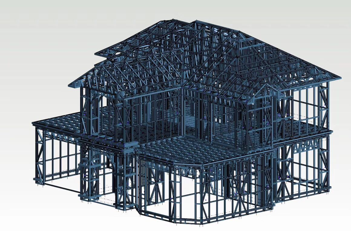 漳州鍍鋁鋅輕鋼別墅G550鍍鋁鋅型號