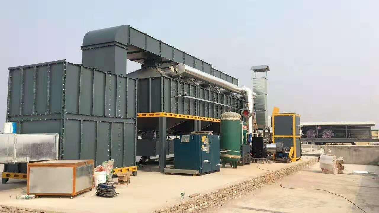惠州催化燃烧废气处理设备