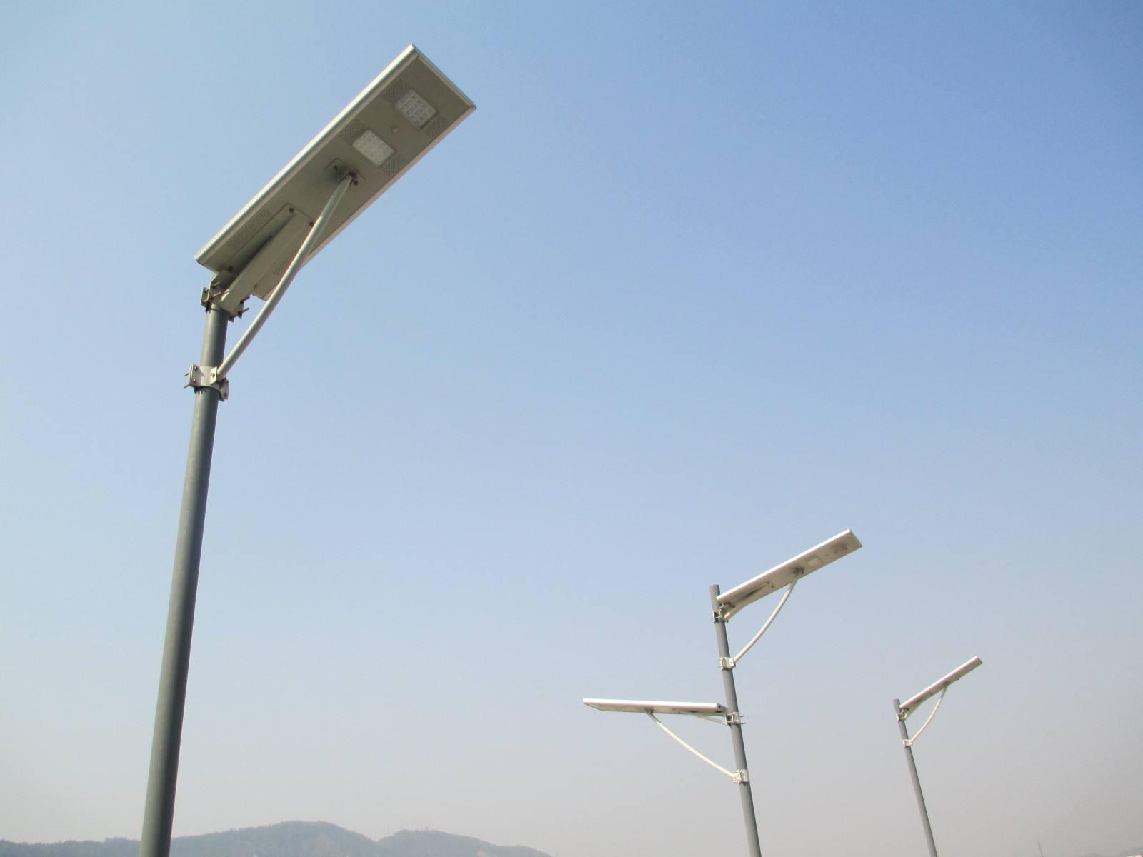 湖州一體化太陽能路燈價格 太陽能路燈