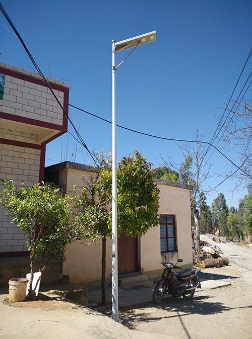 雅安一體化太陽能路燈價格 太陽能路燈
