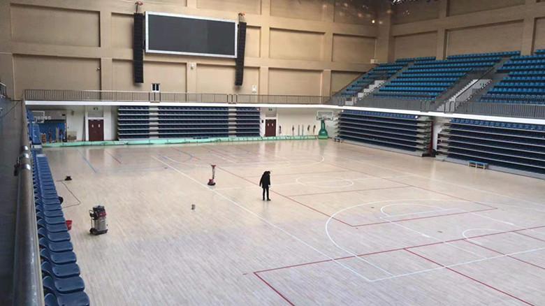 现场做漆体育馆木地板什么牌子好