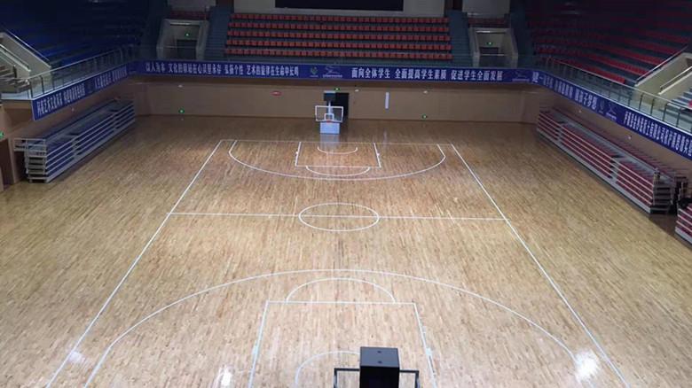 24厚体育馆木地板费用