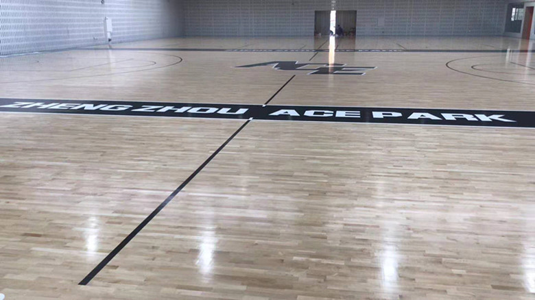 進口體育館木地板生產