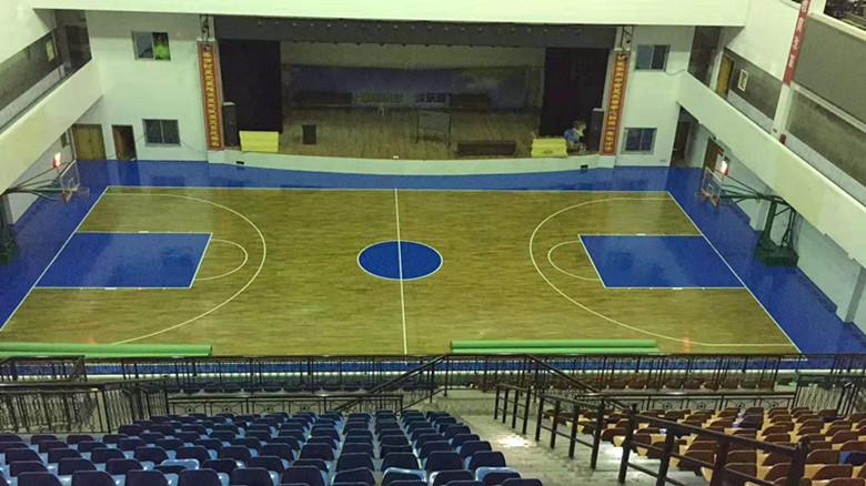安康籃球館木地板