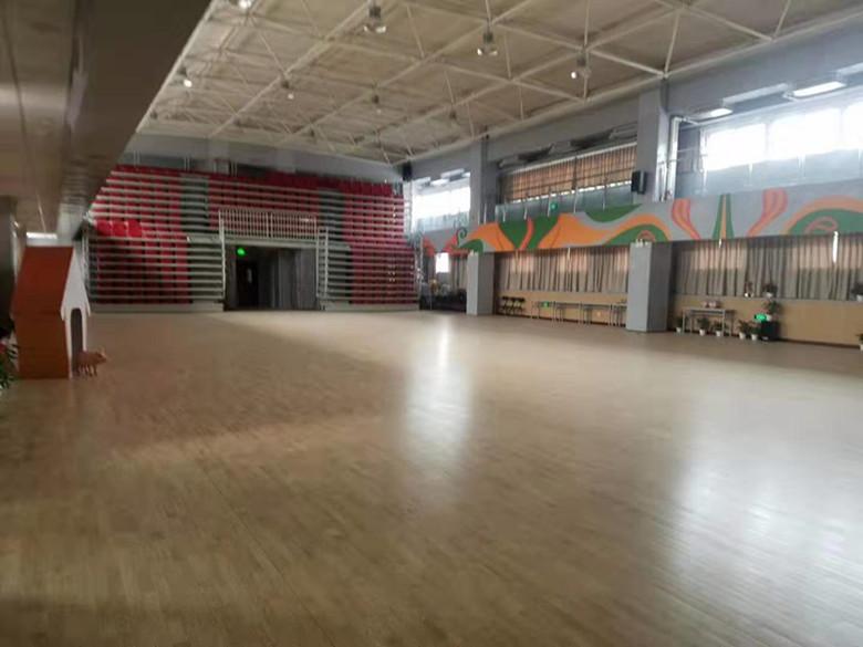 臨滄羽毛球館木地板