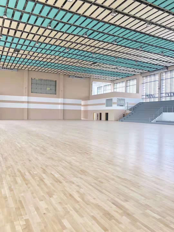 洛陽硬木企口體育館木地板