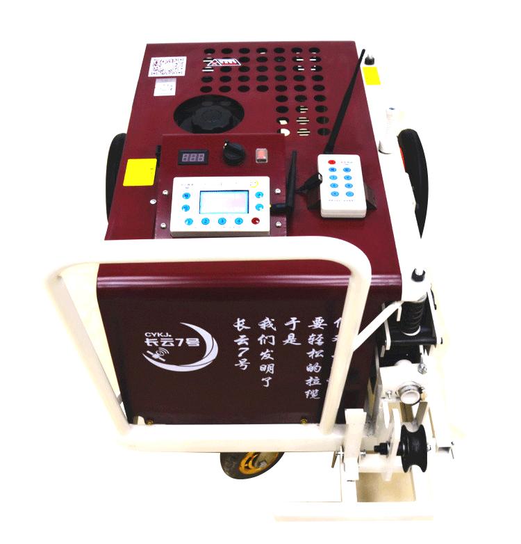 成都大推力光纜牽引機使用視頻 技術成熟 產品穩定