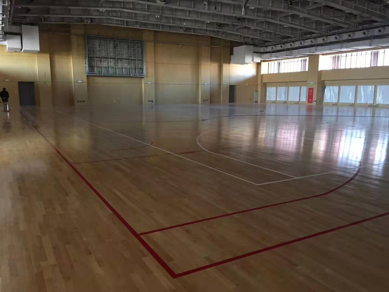 道縣20厚運動木地板翻新 體育館運動木地板 技術更精進
