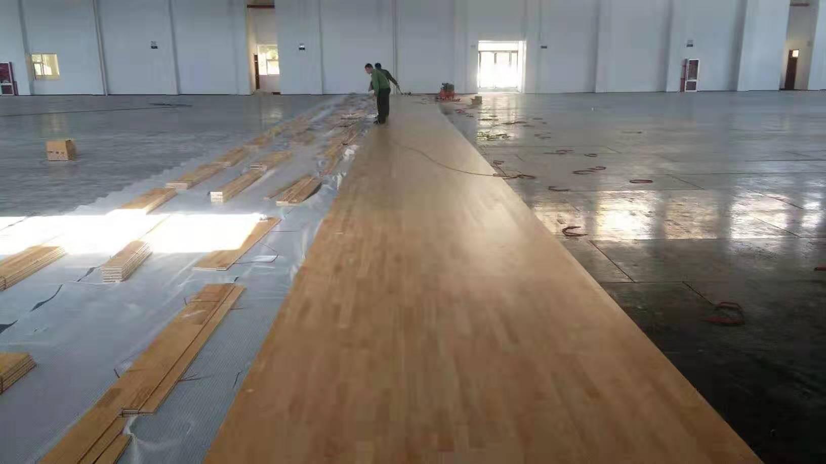 道縣18厚運動木地板改造 實木運動地板 高品質工程