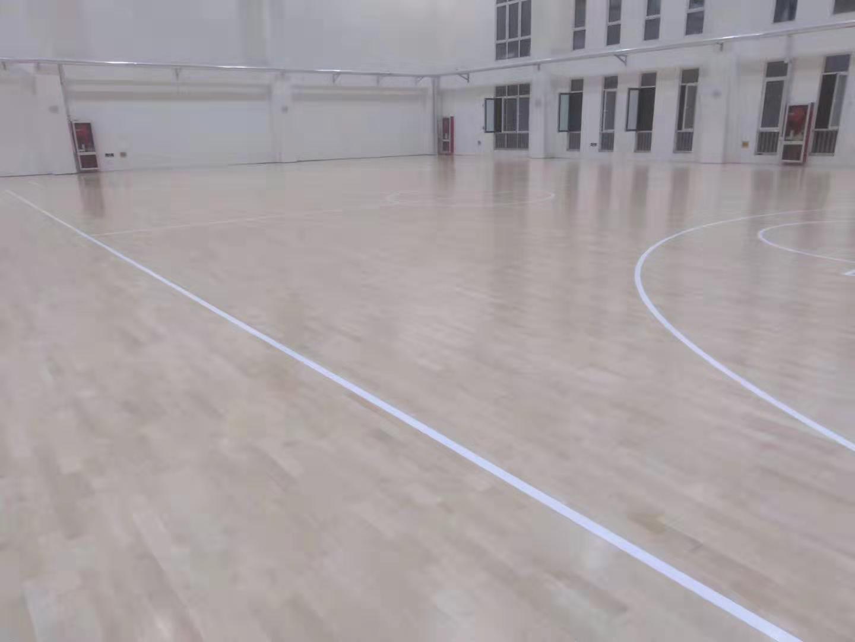 阿壩學校橡膠木體育地板多少錢