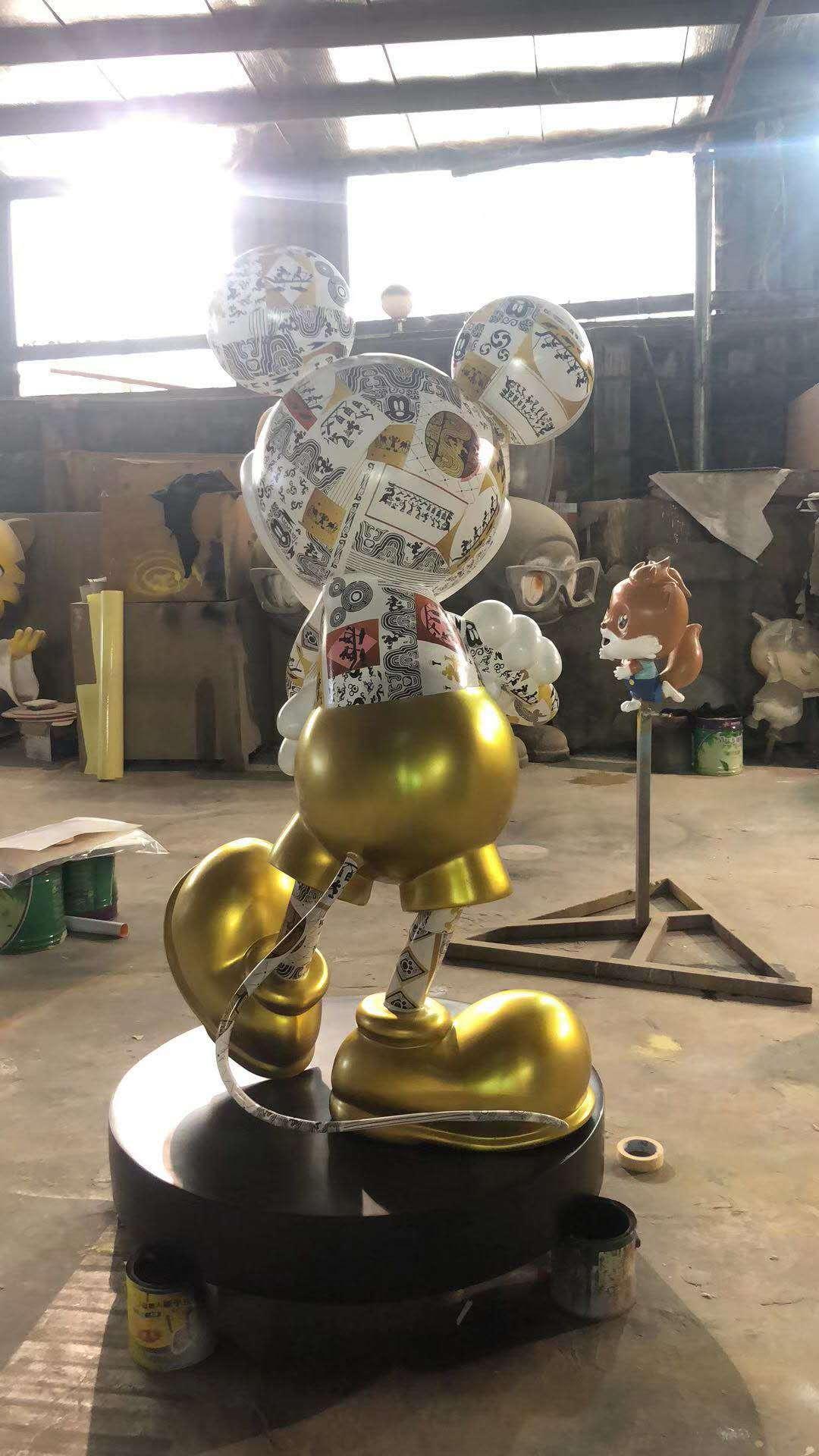 滁州卡通雕塑