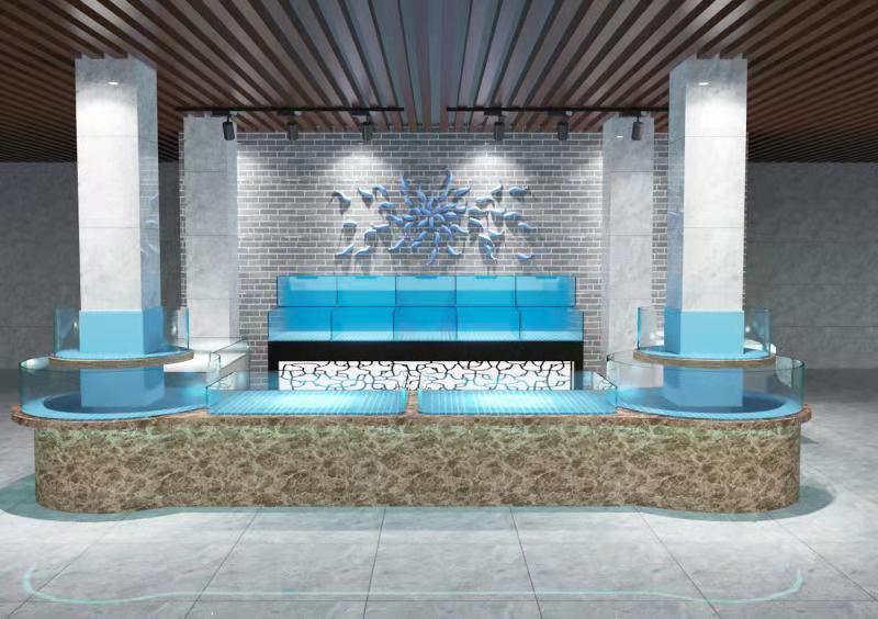 深圳沙尾訂做海鮮池電話 海鮮池過濾潛水泵 免費咨詢