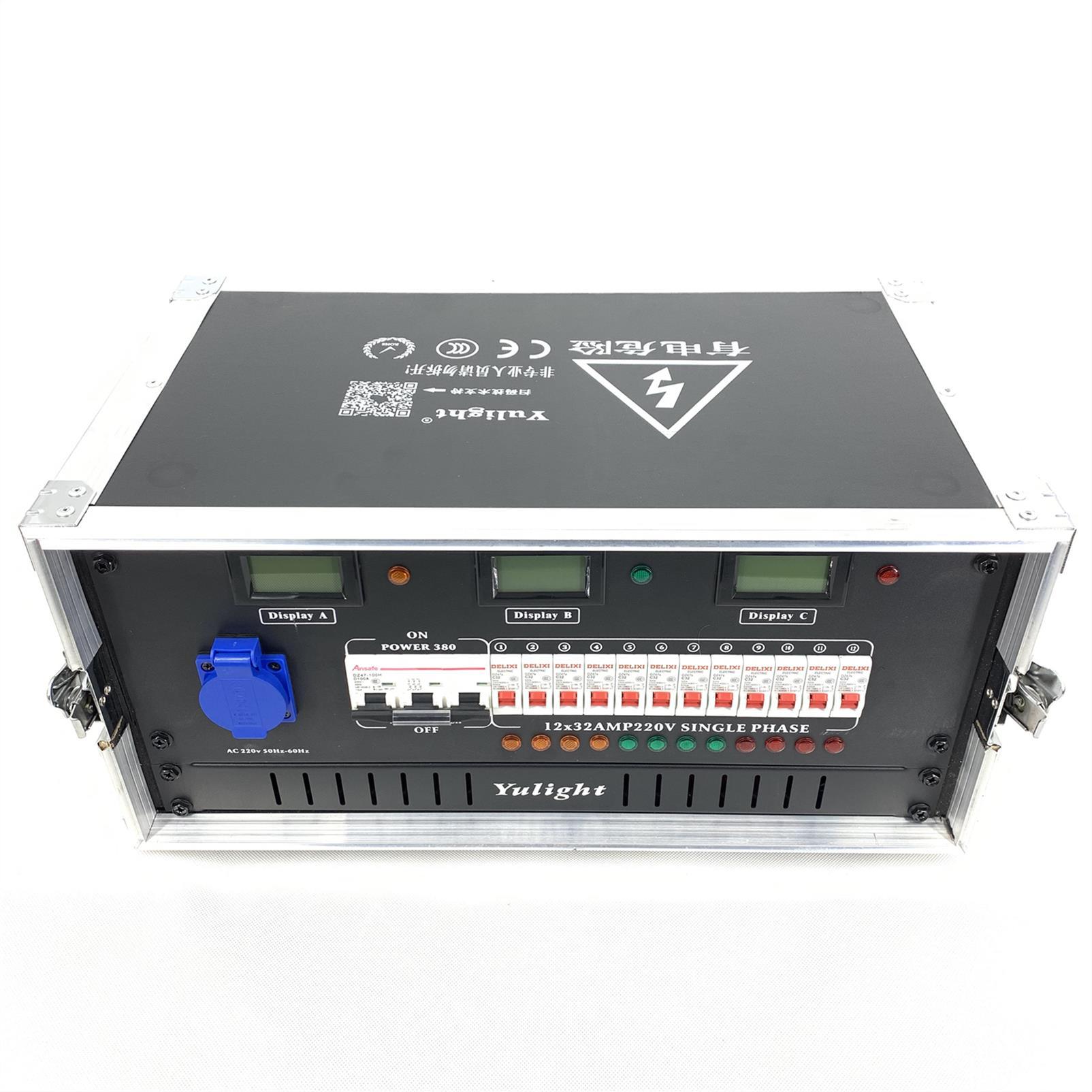 12路工業插電源箱 12路配電柜