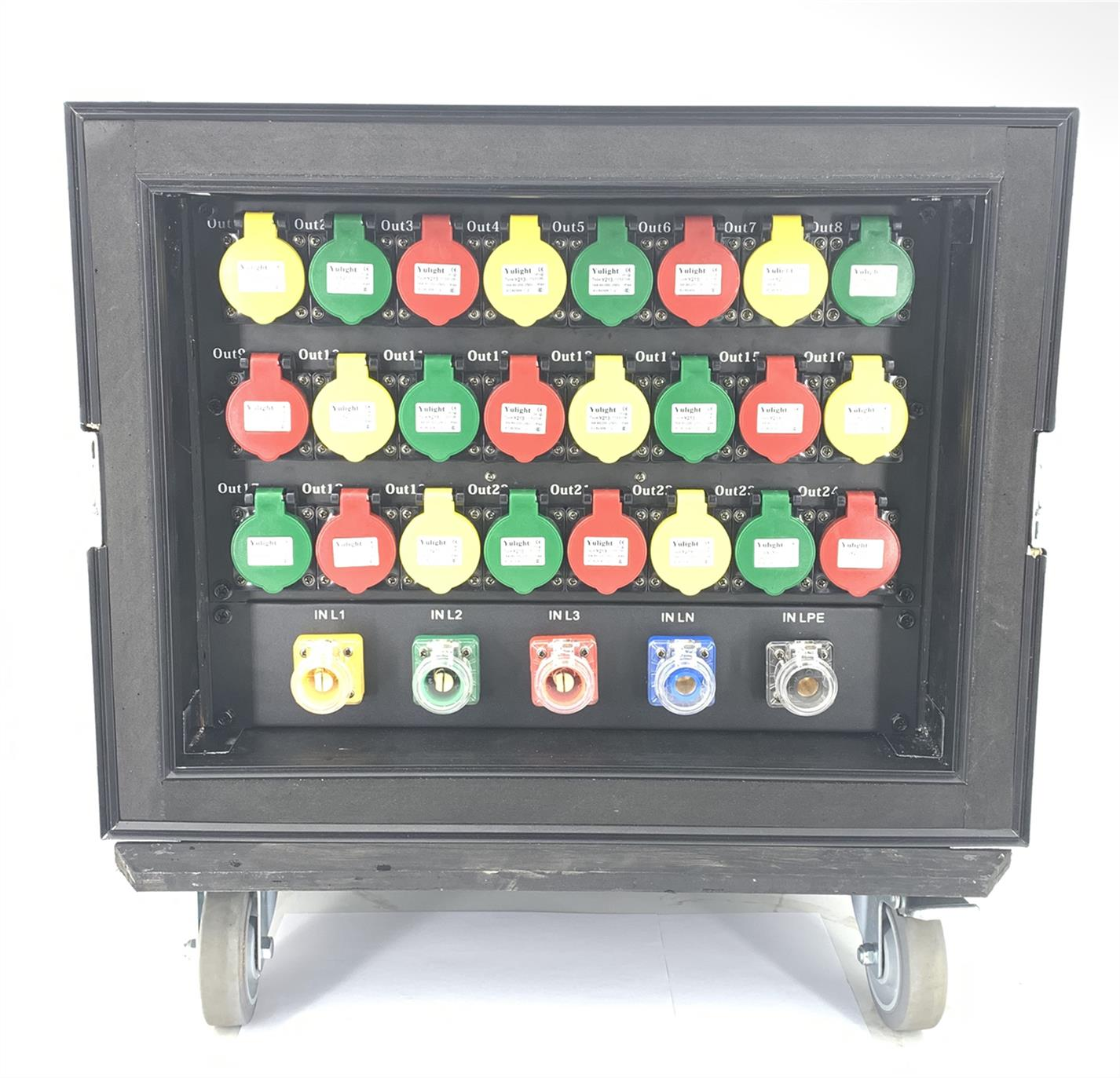 蚌埠舞台灯光12路电源直通箱