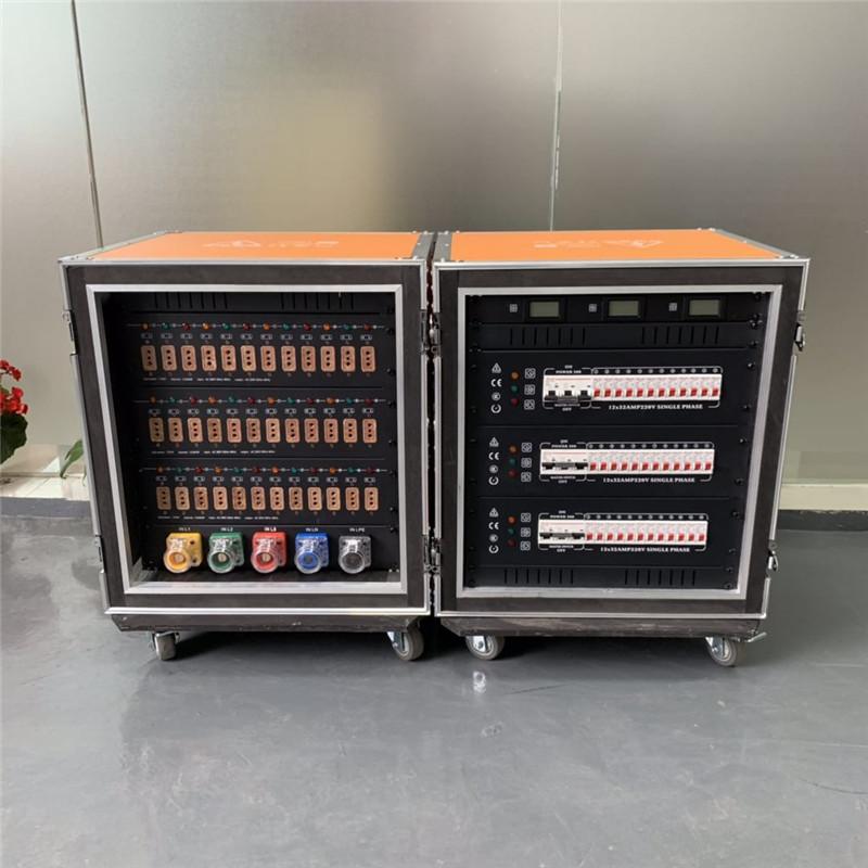 威海舞臺燈光LED屏演出工程配電箱 24路電柜 節能