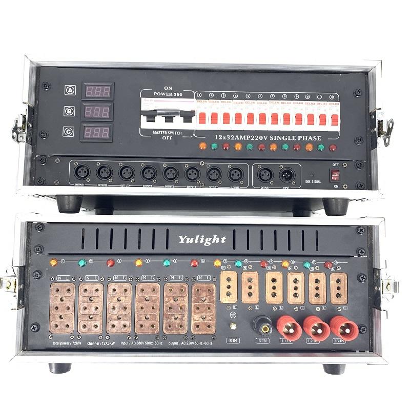 常德舞臺燈光音響LED大屏電源箱 12路電柜 高品質工程
