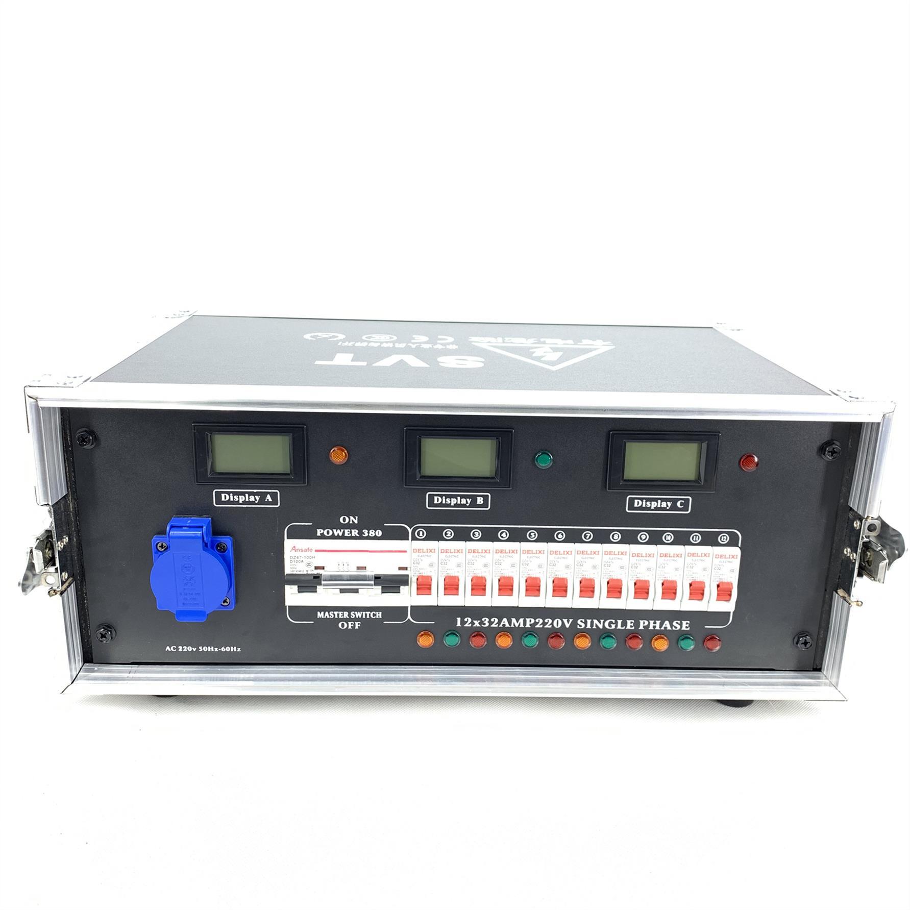 湘潭12路電源直通箱舞臺燈光音響電柜