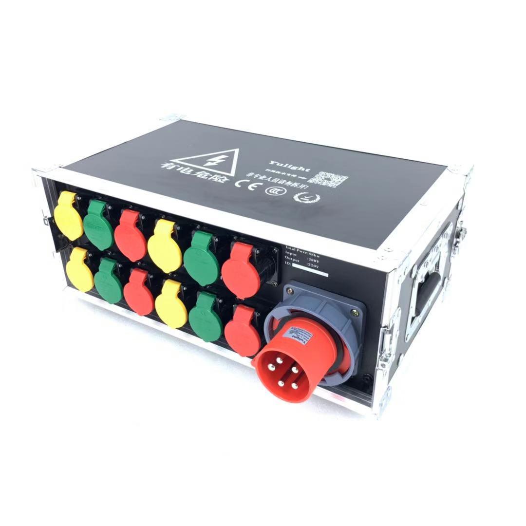 12路工業插電源箱