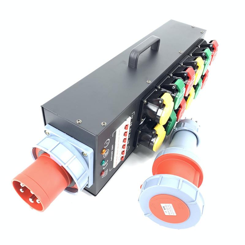 演出電源箱12路電源直通箱
