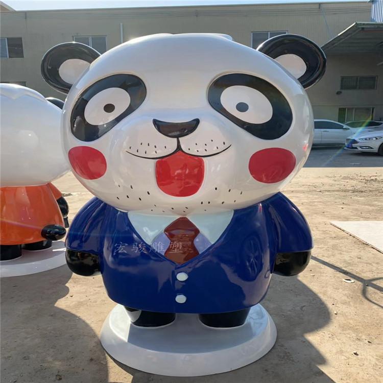 潮州玻璃鋼卡通公仔雕塑生產廠家