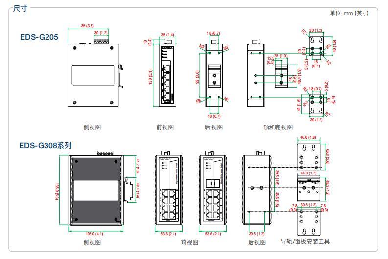 EDS-G308 EDS-G308-Tmoxa模塊供應