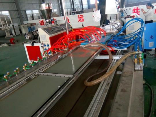 呼和浩特竹木纖維集成墻板生產線