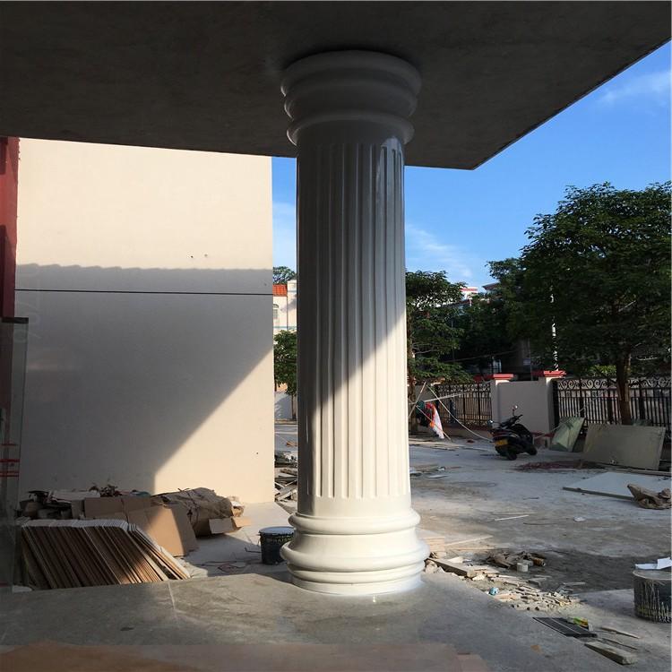 安徽玻璃钢罗马柱雕塑定制