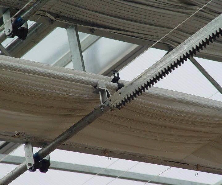 北京溫室遮陽開窗傳動系統材料電話 溫室遮陽 現貨供應